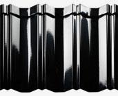 Tigla metalica Novatik Avangarde Glossy Black RAL 9005
