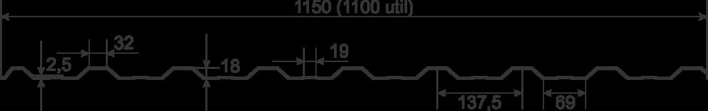 Tabla cutata Wetterbest W18