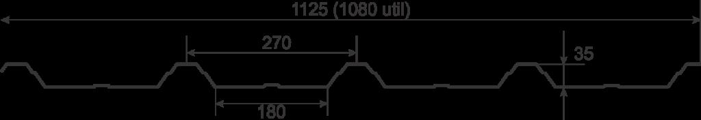 Tabla cutata Wetterbest W35
